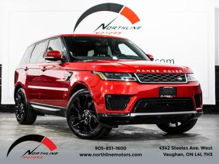 Used 2018 Land Rover Range Rover Sport Td6 HSE|Navigation|Heads Up Disp|Soft Close Doors|Pano for sale in Vaughan, ON