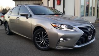 Used 2017 Lexus ES 350 Sedan - NAV! BACK-UP CAM! BSM! SAFETY SENSE! for sale in Kitchener, ON