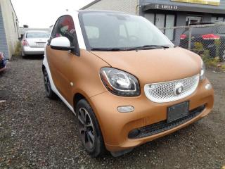 Used 2016 Smart fortwo 2DR CPE for sale in Brampton, ON