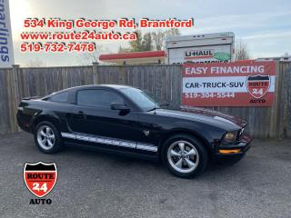 Used 2009 Ford Mustang V6 Premium Cash in on winter mustang pricing. 210 HP. call/text 519-732-7478 for sale in Brantford, ON