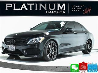 Used 2017 Mercedes-Benz C-Class AMG C43 4MATIC, 362HP, NAV, BURMESTER, PANO, 360 for sale in Toronto, ON