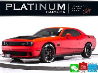 Used 2016 Dodge Challenger SRT Hellcat, 707HP, MANUAL, NAV, CAM, HARMAN KARDO for sale in Toronto, ON