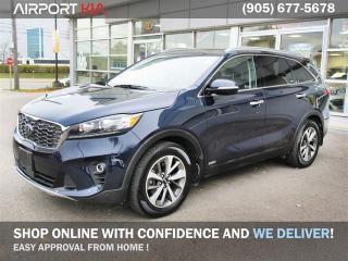 Used 2020 Kia Sorento 3.3L EX+ Demo 0% Financing/WE ARE OPEN, BOOK YOUR APPOINTMENT /Navigation/360' Camera/Panoramic Sunroof/Leather/AWD/Camera/push start/Blind spot for sale in Mississauga, ON