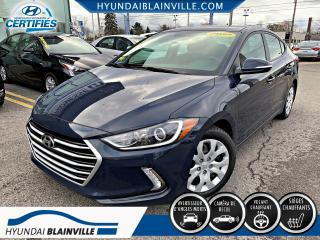 Used 2017 Hyundai Elantra GL DÉMAR À DISTANCE, APPLE CARPLAY, VOLA for sale in Blainville, QC