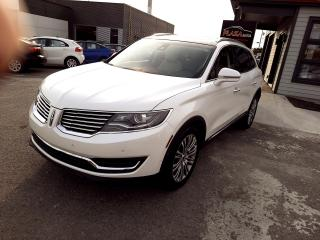 Used 2016 Lincoln MKX AWD 4dr Reserve, WOW BAS KILOMÉTRAGE for sale in Beauport, QC