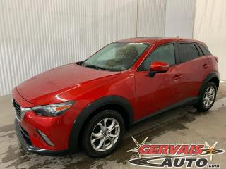 Used 2016 Mazda CX-3 GS Luxe AWD GPS Cuir/Tissus Toit Ouvrant Mags *Traction intégrale* for sale in Trois-Rivières, QC