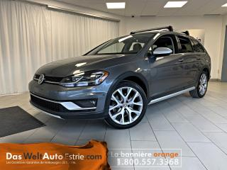 Used 2018 Volkswagen Golf Alltrack Cuir, Toit, Manuel for sale in Sherbrooke, QC