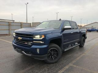 Used 2017 Chevrolet Silverado 1500 LTZ Crew Cab 4WD for sale in Cayuga, ON