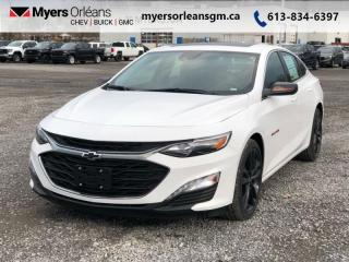 Used 2021 Chevrolet Malibu LT  - Heated Seats - SiriusXM for sale in Orleans, ON