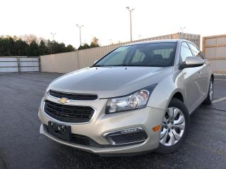 Used 2015 Chevrolet Cruze 1LT 2WD for sale in Cayuga, ON