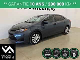 Used 2017 Toyota Corolla LE ** GARANTIE 10 ANS ** Fiabilité légendaire au rendez-vous! for sale in Shawinigan, QC