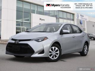 Used 2018 Toyota Corolla CE  -  Bluetooth for sale in Kanata, ON