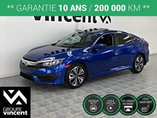 Used 2016 Honda Civic EX ** GARANTIE 10 ANS ** La voiture compacte la plus vendue à travers le monde! for sale in Shawinigan, QC