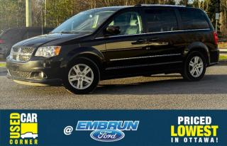 Used 2017 Dodge Grand Caravan Crew Plus for sale in Embrun, ON