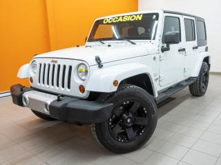 Used 2012 Jeep Wrangler SAHARA 4X4 CLIMATISEUR *100% APPROUVÉ* for sale in Mirabel, QC