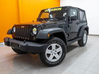 Used 2011 Jeep Wrangler SPORT 4X4 HITCH MAGS 18 PO. *100% APPROUVÉ* for sale in Mirabel, QC