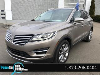 Used 2018 Lincoln MKC Sélect AWD 1 SEUL PROPRIO for sale in Shawinigan, QC