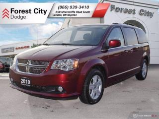 Used 2019 Dodge Grand Caravan NAVIGATION | DUAL DVD for sale in London, ON