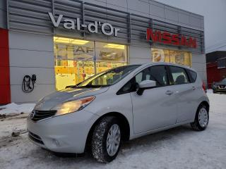 Used 2015 Nissan Versa Note SV *** AUTOMATIQUE + CAMERA DE RECUL + A/C *** INSPECTÉ!! for sale in Val-d'Or, QC