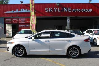 Used 2019 Ford Fusion Hybrid Titanium FWD for sale in Surrey, BC