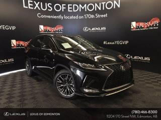 Used 2021 Lexus RX 350 F Sport SERIES 2 for sale in Edmonton, AB