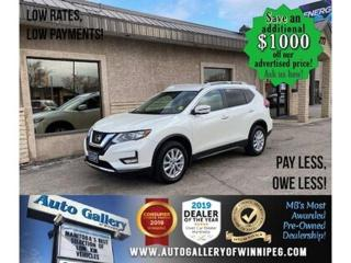 Used 2017 Nissan Rogue SV* AWD/B.cam/Htd seats/B.tooth for sale in Winnipeg, MB