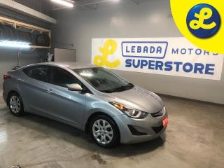 Used 2015 Hyundai Elantra Cruise Control * Steering Wheel Controls * Heated Cloth Seats * Eco/Sport/Comfort Mode * Automatic/ Manual Mode * Keyless Entry * Power Locks/Windows for sale in Cambridge, ON