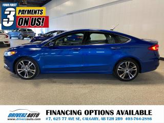 Used 2017 Ford Fusion Titanium **AWD** HEATED LEATHER, ROOF, NAV. for sale in Calgary, AB