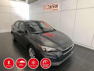 Used 2018 Subaru Impreza COMMODITÉ - AWD - BLUETOOTH - CAMERA DE RECUL for sale in Québec, QC