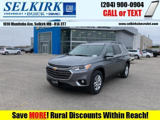 New 2021 Chevrolet Traverse LT Cloth  - Power Liftgate for sale in Selkirk, MB