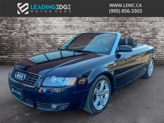 Used 2004 Audi A4 1.8T Cabriolet for sale in Woodbridge, ON
