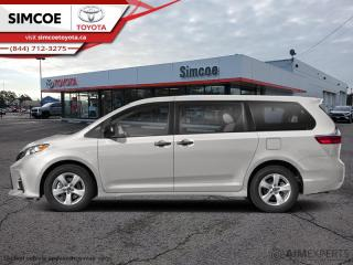 New 2020 Toyota Sienna LE 8-Passenger  - Heated Seats - $267 B/W for sale in Simcoe, ON