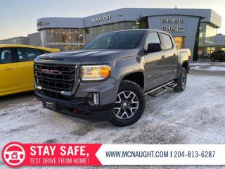 New 2021 GMC Canyon 4WD AT4 w/Leather for sale in Winnipeg, MB