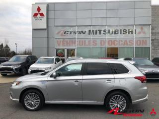 Used 2019 Mitsubishi Outlander Phev GT S-AWC HYBRIDE+CUIR+TOIT+MAGS+CLÉ INTELLIGENTE for sale in St-Hubert, QC