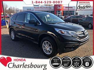 Used 2016 Honda CR-V LX **58 530 KM**BANCS CHAUFFANT** for sale in Charlesbourg, QC