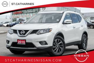Used 2016 Nissan Rogue SL Premium Platinum | Loaded |Beige Leather | Navi | Roof for sale in St. Catharines, ON