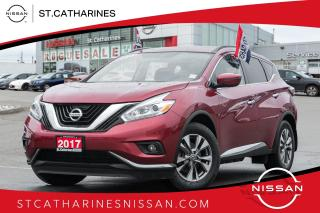 Used 2017 Nissan Murano SV Navi | Roof | 1 owner | Accident Free for sale in St. Catharines, ON