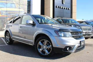Used 2016 Dodge Journey Crossroad PRE-OWNED, CERTIFIED! CROSSROAD! 7 PASSANGER! REAR DVD! NAVIGATION for sale in Hamilton, ON