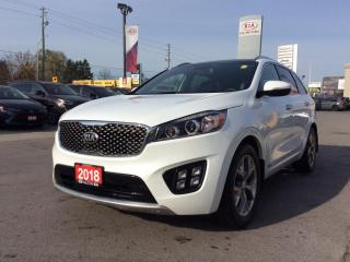 Used 2018 Kia Sorento 2.0L SX for sale in Milton, ON