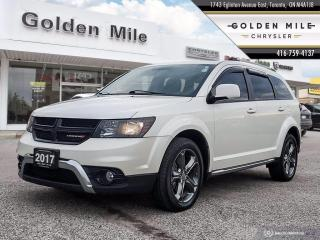 Used 2017 Dodge Journey Crossroad All wheel Drive, Leather, Navi, Sunroof for sale in North York, ON