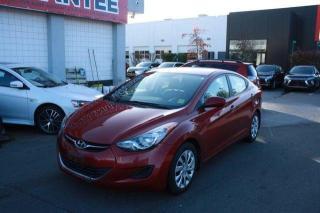 Used 2013 Hyundai Elantra GL for sale in Nanaimo, BC