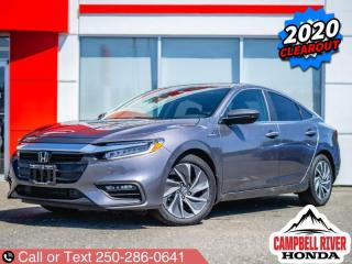 Used 2020 Honda Insight Hybrid Touring  DEMO DEAL! for sale in Campbell River, BC