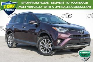 Used 2016 Toyota RAV4 Limited NAVIGATION!! HEATED SEATS!! AWD!! for sale in Barrie, ON