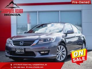 Used 2014 Honda Accord Sedan Accord EX-L for sale in Campbell River, BC