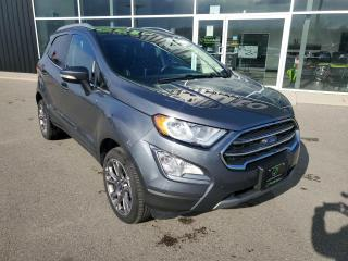 Used 2020 Ford EcoSport Titanium 1 OWNER, NAV, Sunroof, Heated Seats! for sale in Ingersoll, ON