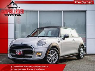 Used 2016 MINI Cooper Hardtop Base  -  Bluetooth - Low Mileage for sale in Campbell River, BC