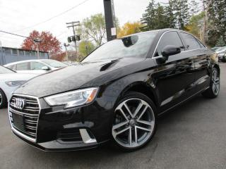 Used 2017 Audi A3 4dr Sdn FrontTrak 2.0T Progressiv for sale in Burlington, ON