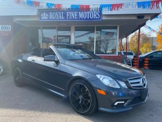 Used 2011 Mercedes-Benz E-Class 2DR CABRIOLET E 350 RWD for sale in Toronto, ON