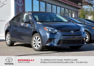 Used 2016 Toyota Corolla LE BAS KM! for sale in Pointe-Claire, QC