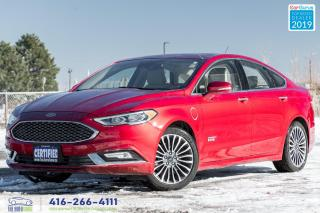 Used 2017 Ford Fusion Titanium|Low kms|Clean Carfax| for sale in Bolton, ON